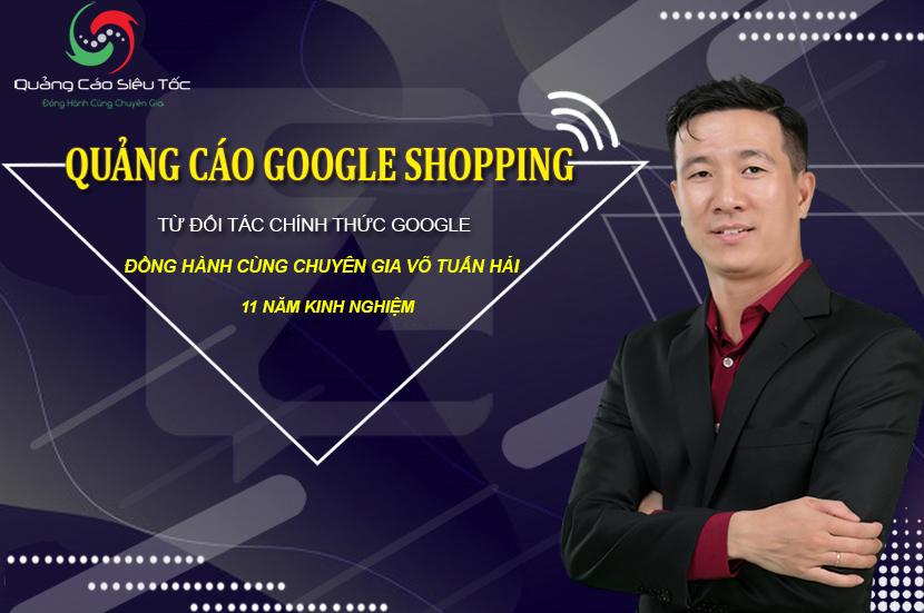 dịch vụ quảng cáo google shopping