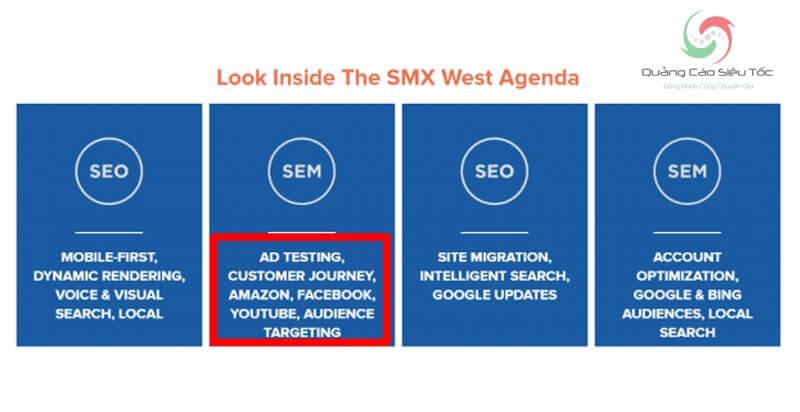 Quan điểm SEM của đại hội SMX West
