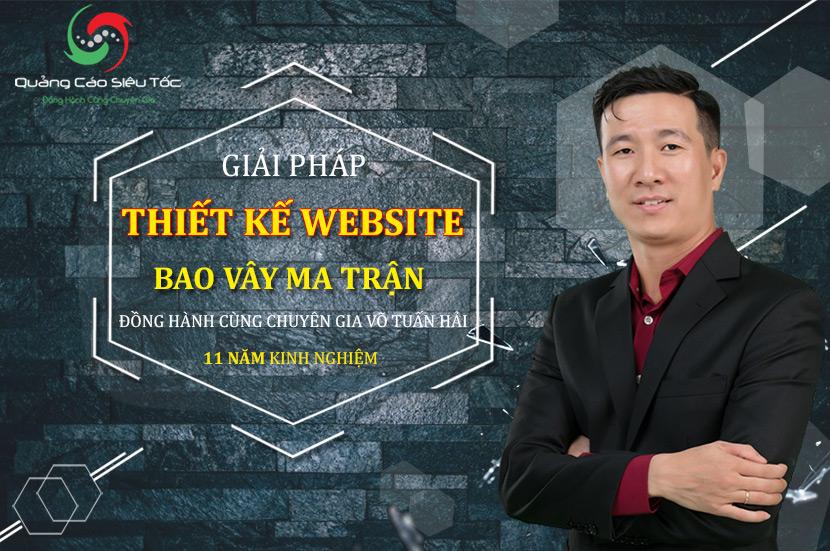 Thiết kế website ma trận bao vây