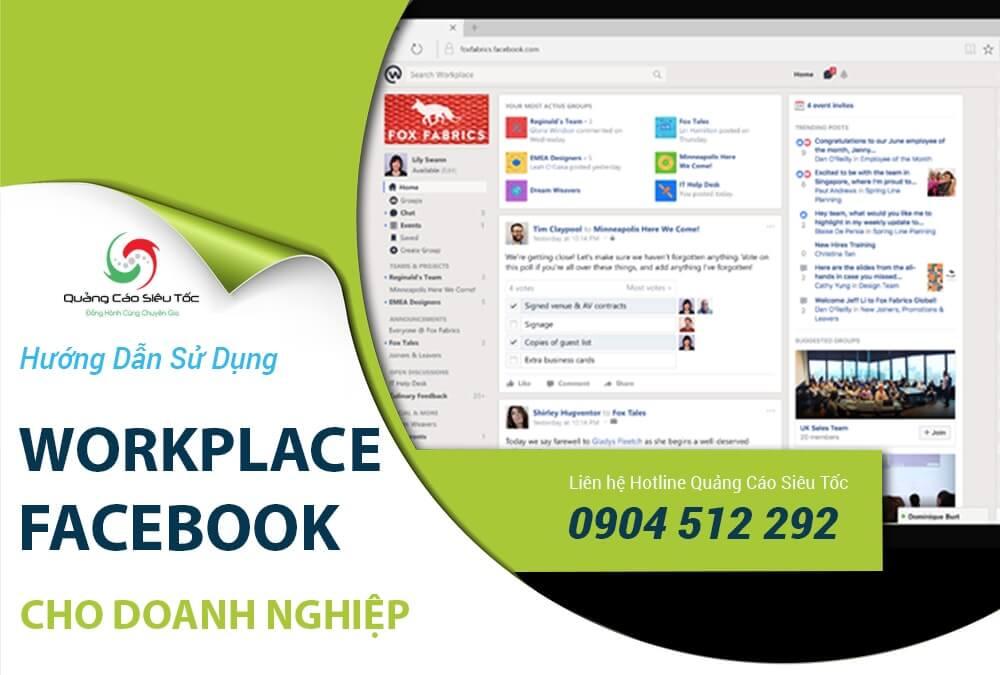 Workplace Facebook là gì? Mọi thứ bạn cần biết về Workplace Facebook