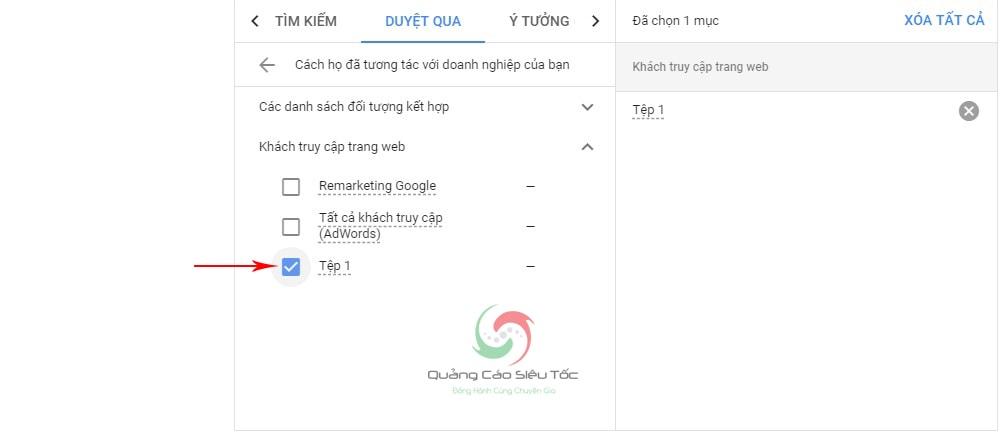 cách quảng cáo bám đuôi google