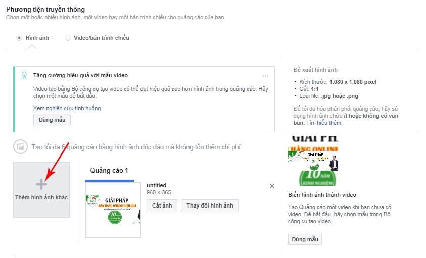 Cách quảng cáo fanpage Facebook hiệu quả