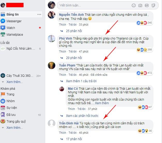comment trên facebook là gì
