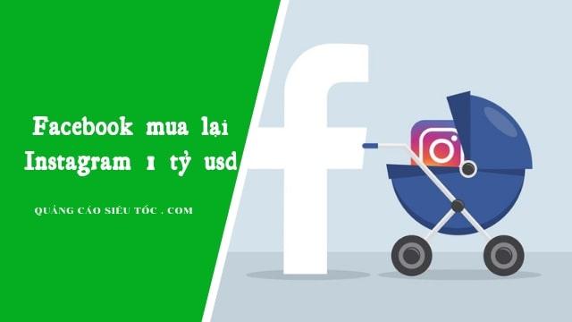 Facebook mua lại fanpage