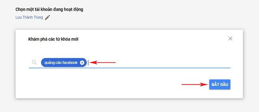 google keyword planner là gì