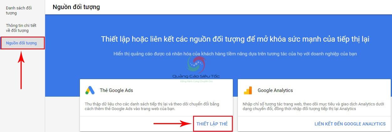 cách quảng cáo tiếp thị lại google