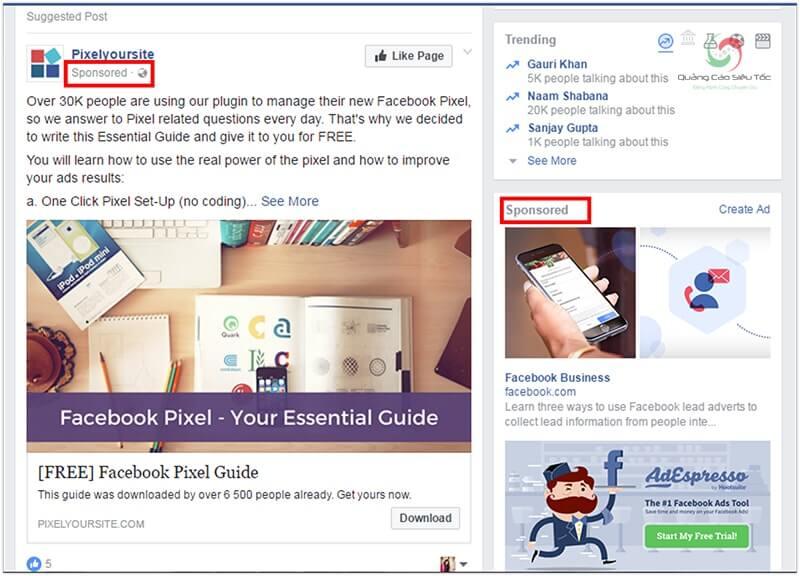 Facebook Ads là một trong những cách tìm khách hàng tiềm năng trên facebook