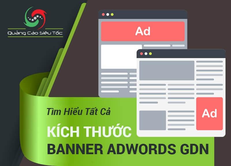 Tất cả kích thước banner quảng cáo Google GDN