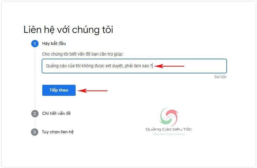 liên hệ google