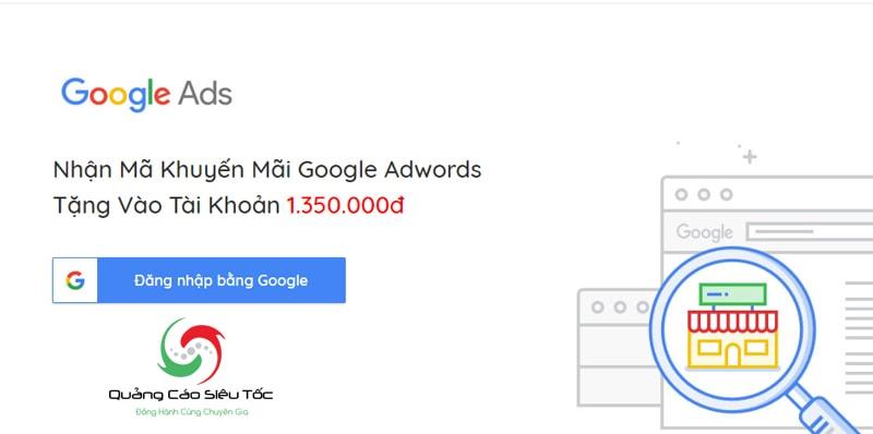 mã khuyến mãi google adwords