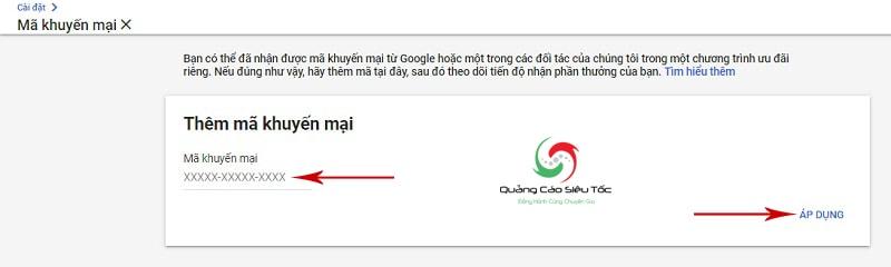 quảng cáo miễn phí trên google adwords