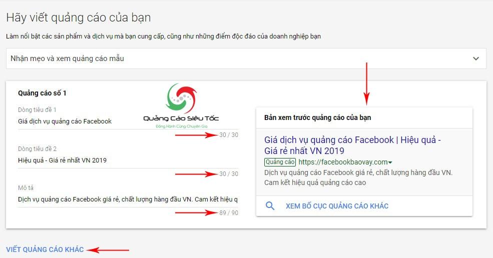 Tài khoản google adwords là gì