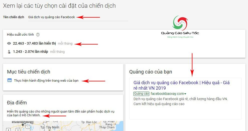 Tạo tài khoản google ads chi tiết