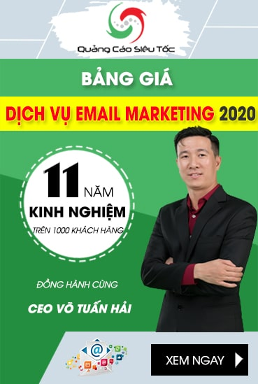 Bảng Giá Email Marketing