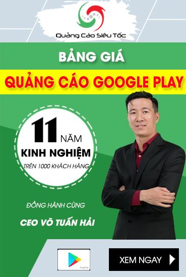 Giá Quảng Cáo Google Play
