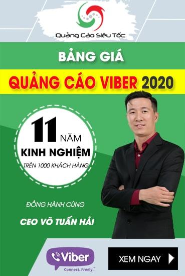 Giá Quảng Cáo Viber