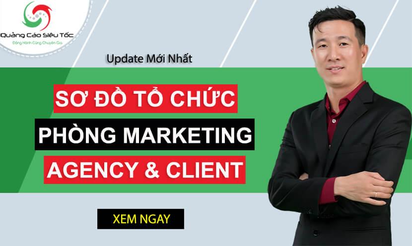 Nhân sự Digital Marketing: Cơ cấu phòng marketing trong công ty