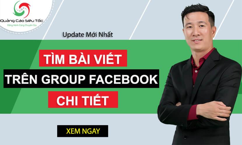 4 bước tìm kiếm bài đăng trong group Facebook chi tiết