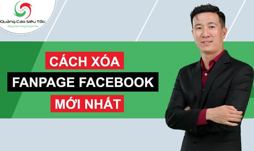Làm thế nào để xóa trang fanpage trên Facebook?