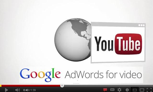 Định dạng video cho Adwords