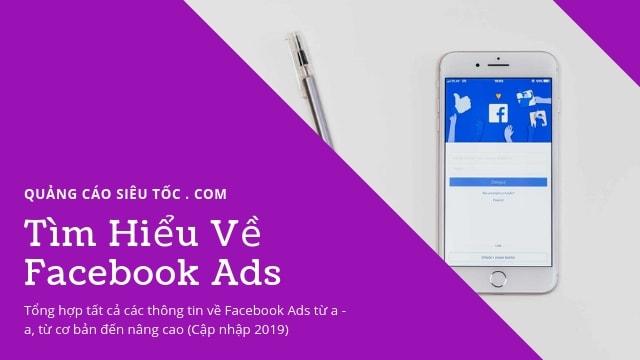 Tổng hợp tất cả thông tin về Quảng Cáo Facebook Ads 2019