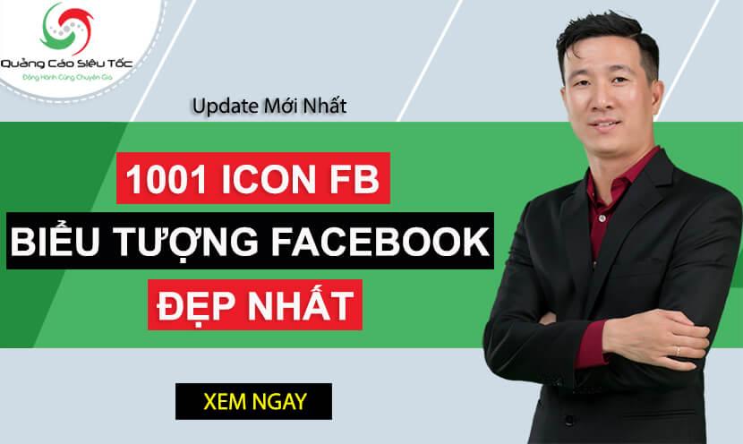 1001 icon Facebook mới nhất – Biểu tượng Facebook đẹp nhất