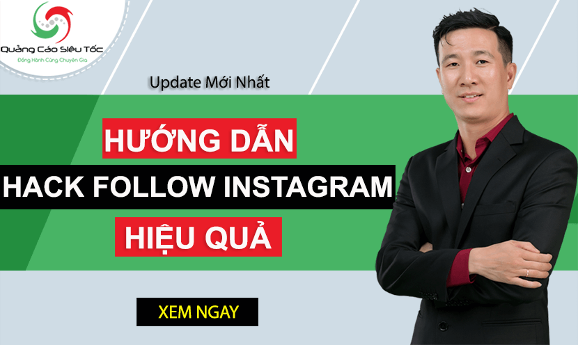 Hướng dẫn cách hack follow Instagram chi tiết nhất 2020