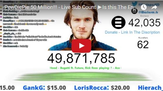 Kênh Youtube 50 Triệu Lượt Đăng Ký Kênh Sắp Bị Hủy