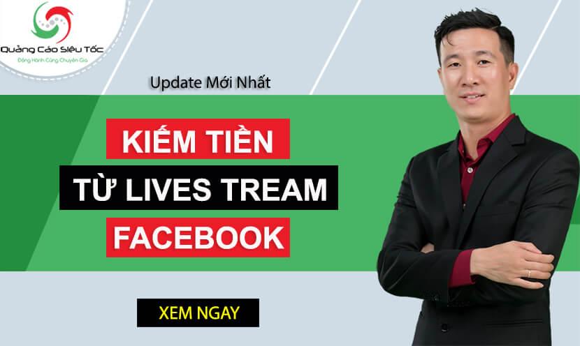 4 Cách kiếm tiền từ live stream trên Facebook cho streamer