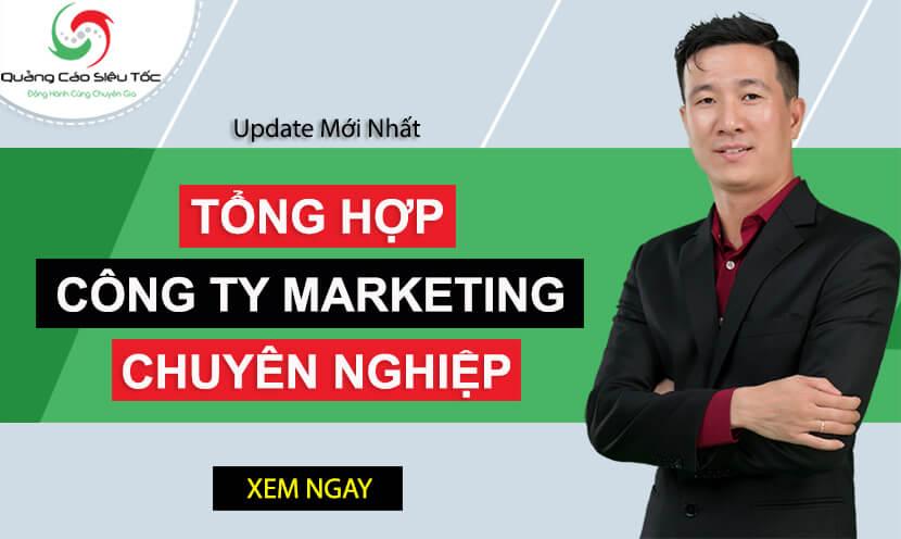 Top 10 Công ty Marketing Chuyên Nghiệp Hàng Đầu Việt Nam Mới Nhất