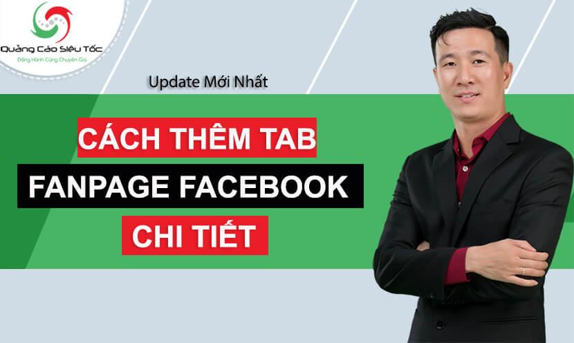 Hướng dẫn cách thêm tab cho fanpage Facebook chi tiết