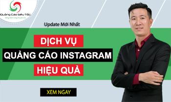 Dịch Vụ Quảng Cáo Instagram