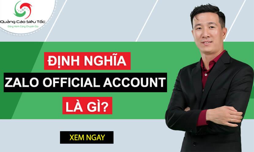 Zalo Official Account Là Gì? Cách Tạo Zalo OA Phiên Bản 2020