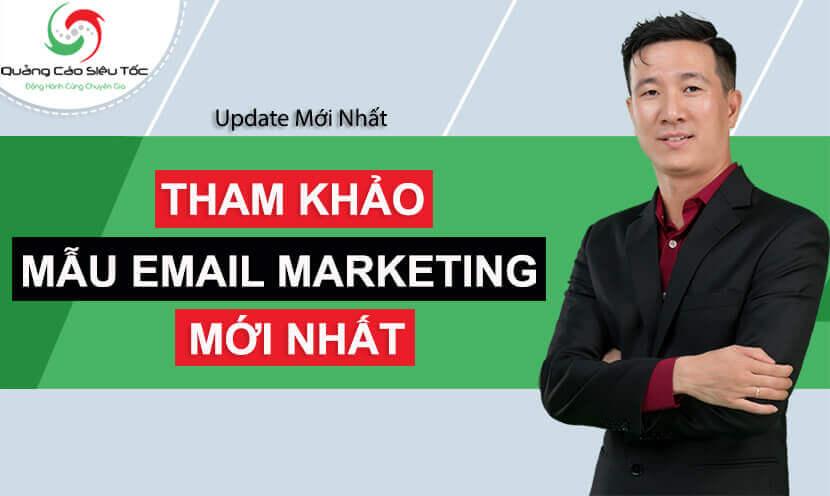 mẫu email marketing