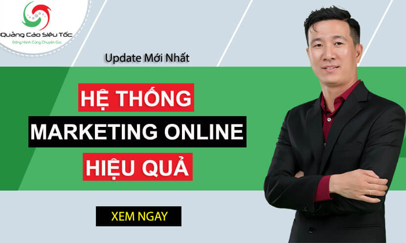 Banner xây dựng hệ thống Marketing Online