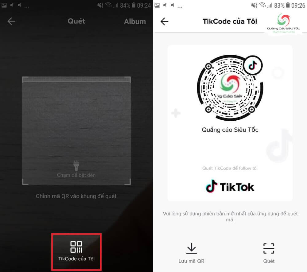Cách lấy mã QR Tikcode trên tài khoản Tik Tok