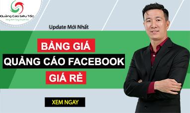 bảng giá facebook ads