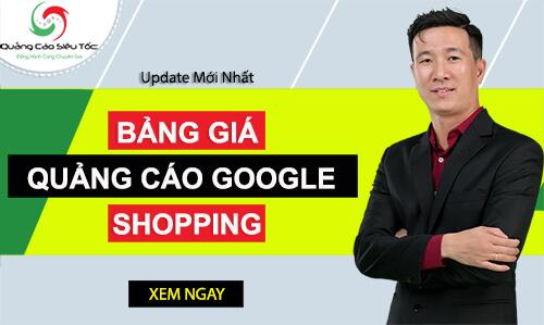 bảng giá google shopping ads