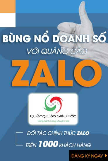 Dịch vụ quảng cáo Zalo