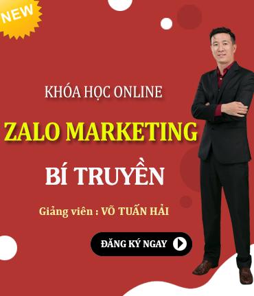 Khóa Học Online Zalo Marketing Bí Truyền