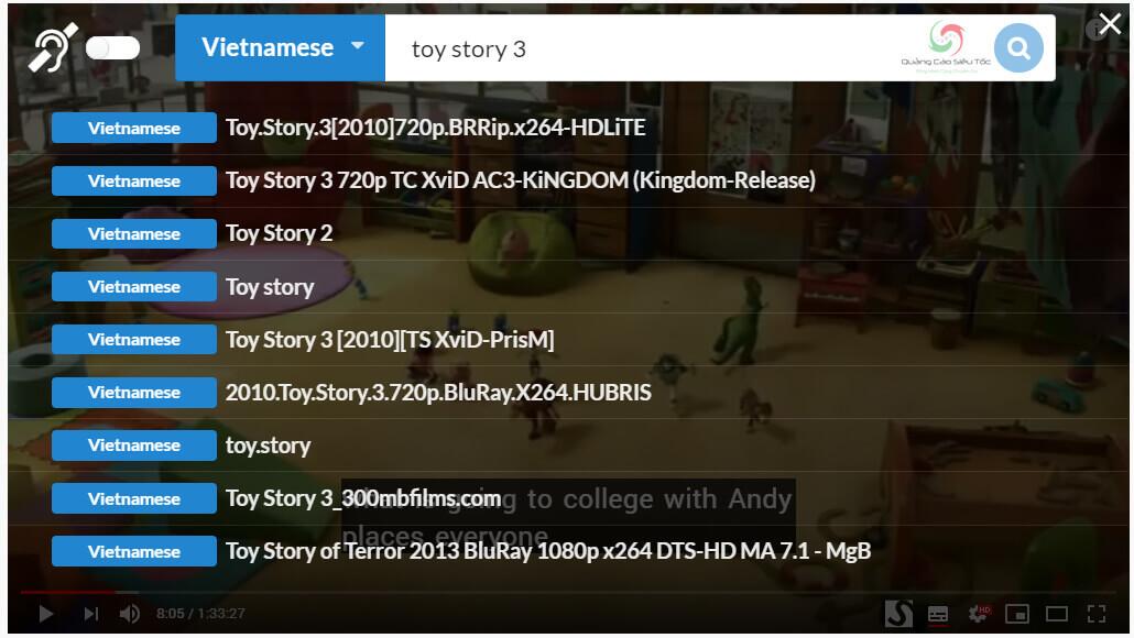 Bật phụ đề Vietsub cho phim trên Youtube