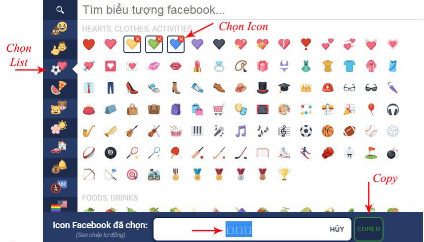 biểu tượng facebook