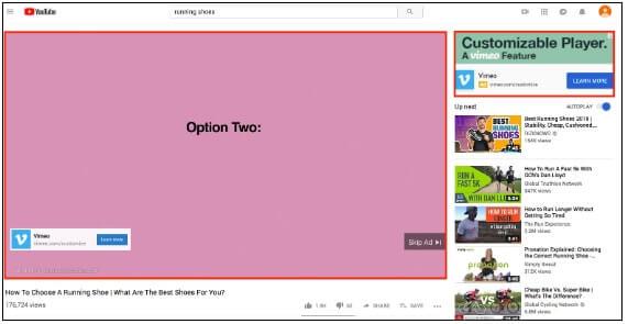 Hình thức quảng cáo Youtube In Stream của Youtube