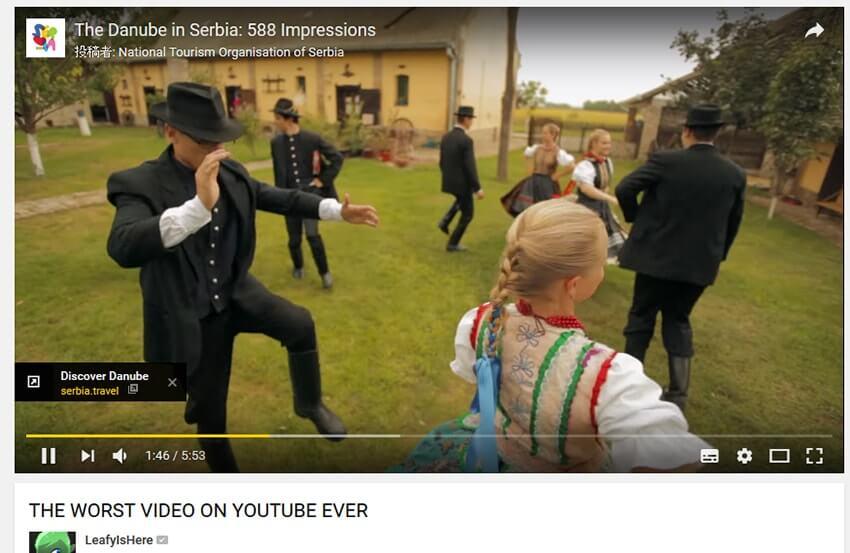 Quảng cáo không thể bỏ qua của Youtube