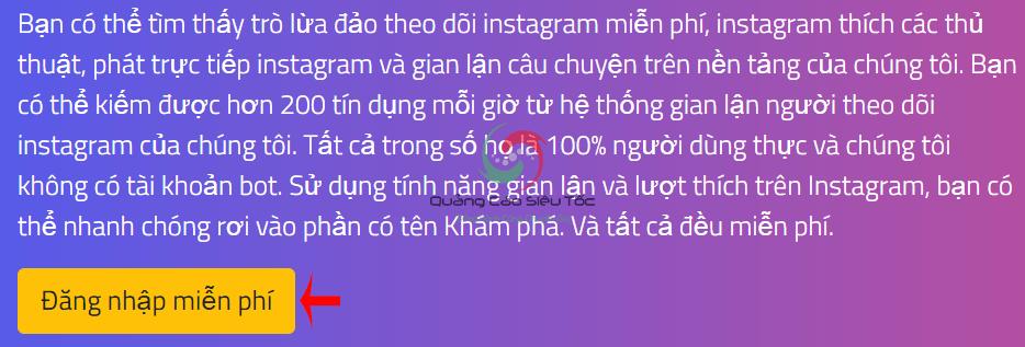 cách hack follow instagram