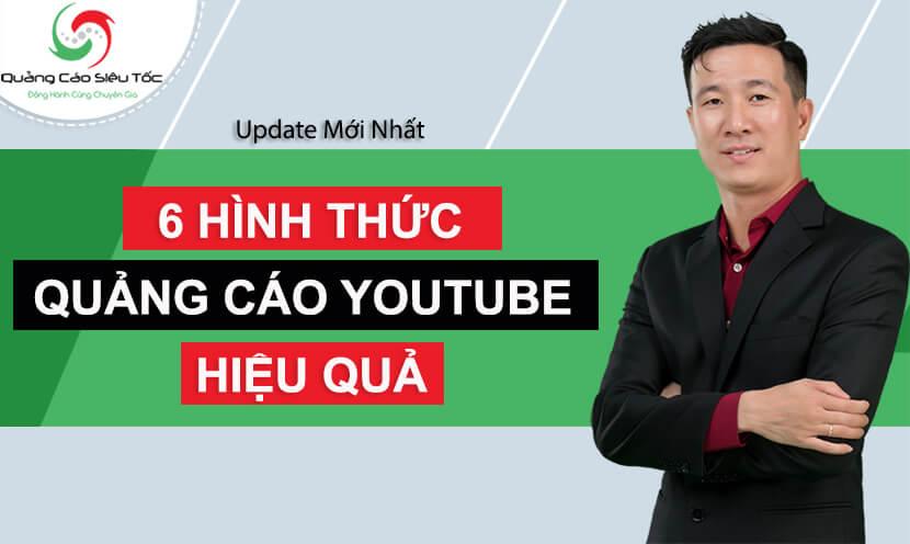 các hình thức quảng cáo youtube