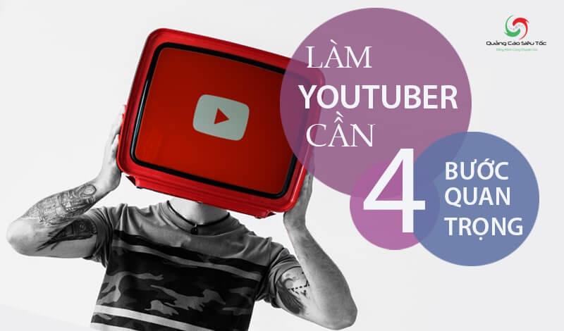 Cách làm Youtuber chỉ với 4 bước quan trọng nhất