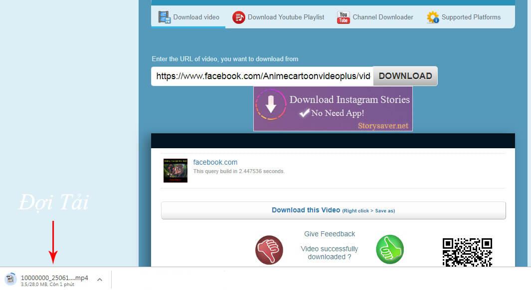 cách tải live stream facebook