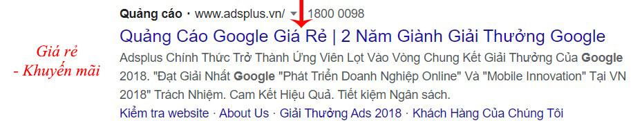 cách viết content quảng cáo google