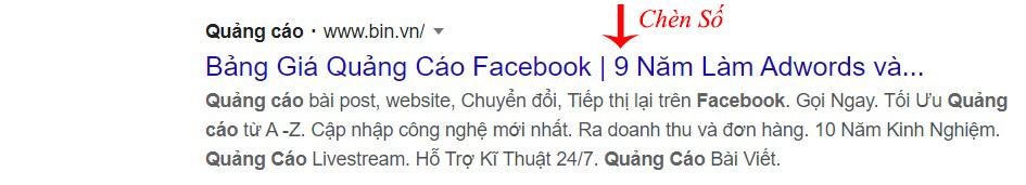 cách viết quảng cáo google adwrods